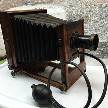 Antique 4 x 5 View Camera...but what kind? - Cameras