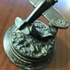 Bronze Statue, Boeing P-26 Peashooter Aircraft, Seattle Souvenir?