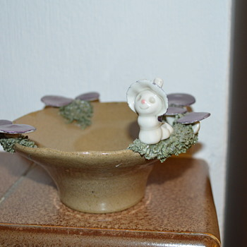 Merry Mill pottery bowl