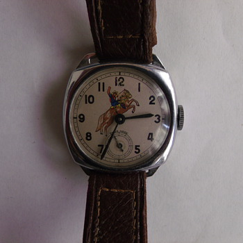 1950's Canadian Version Roy Rogers Wrist Watch