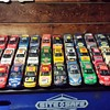 my small hand built 1/24 scale plastic nascar models