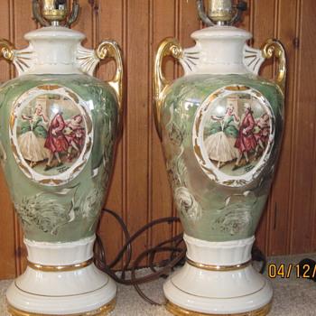 Vintage pair lamps - Lamps