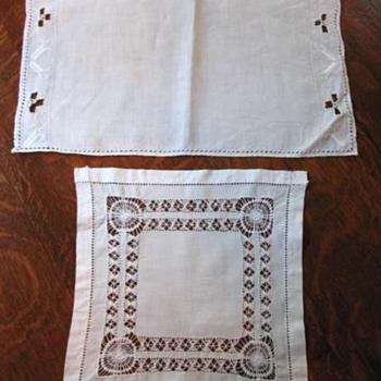 Vintage doilies/table scarves  - Kitchen