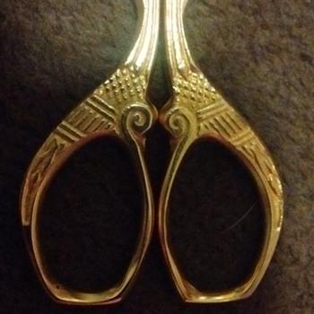 Antique embroidery scissors ?