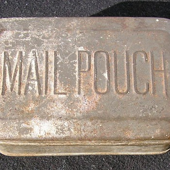 Mail Pouch Tobacco Tin - Tobacciana