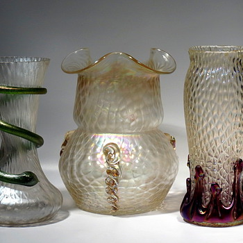 Kralik Different Shapes/Same Décor - Art Glass