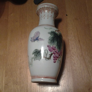 Chinese pottery vase - Asian