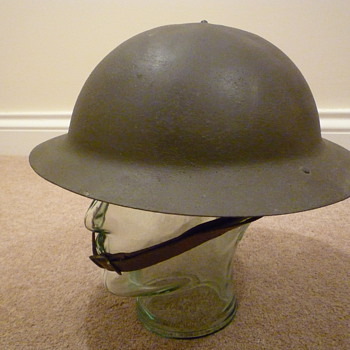 British Home Guard helmet