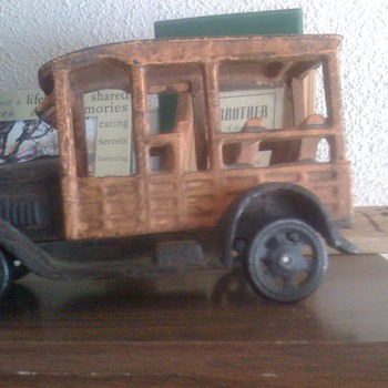 cast iron toy car