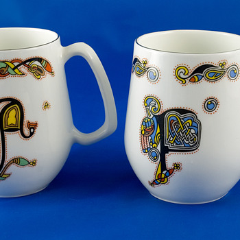 #3 Royal Tara China Mugs - China and Dinnerware