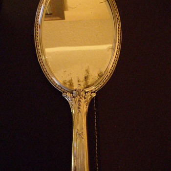 Alpacca Vintage Hand Mirror - Accessories