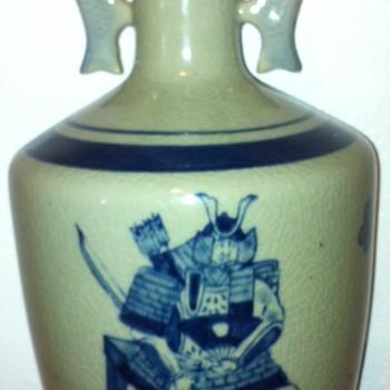 Kutani Japan Vase - Asian