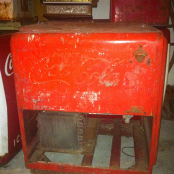 Coca Cola Ice Chest - Coca-Cola
