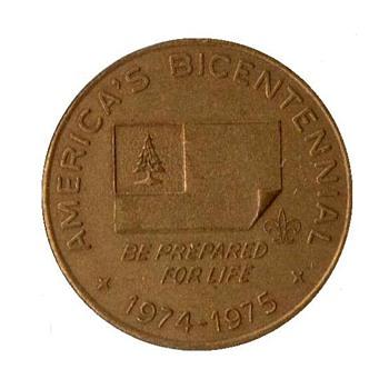 Boy Scouts - American Bicentennial Medallion