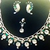 Beautiful but Incomplete Choker and Earring Set