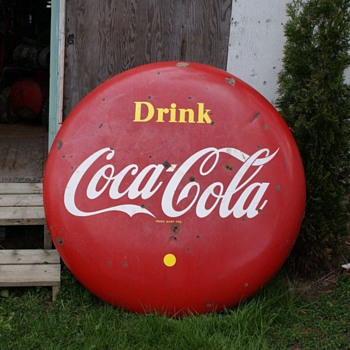 "1956 48"" Coke Button - Coca-Cola"