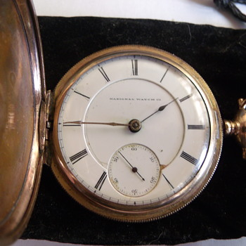 National Watch Company B W Raymond Pocket Watch Circa 1871