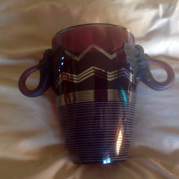 Barolac elephant vase. One more photo - Art Deco