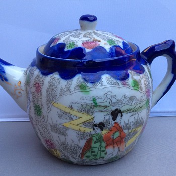 Antique Japanese teapot  - Asian