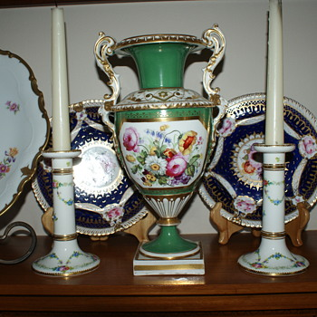 Minton Antique Candle Sticks – Around 1900's