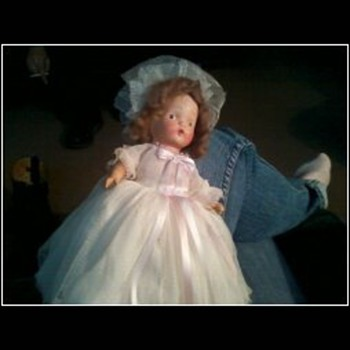 Bride doll with a story