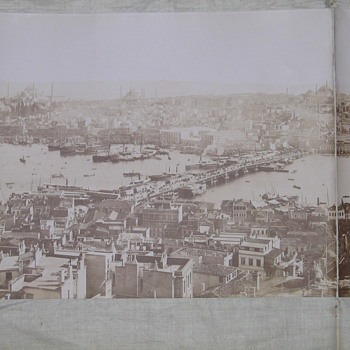 1870's panaromic photo of Istanbul - Photographs