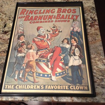 The Childrens Favorite Clown  - Posters and Prints