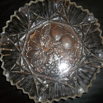 Big Beveled Dish? - Glassware