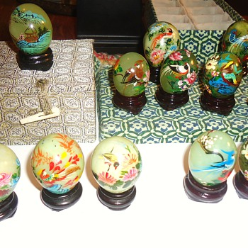 Item	Price	Qty	Total # 15355568 - Miniature Hand Painted Oriental Style Décor Eggs	$16.62	1	$16.62 - Asian
