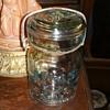 E-Z Atlas glass jar