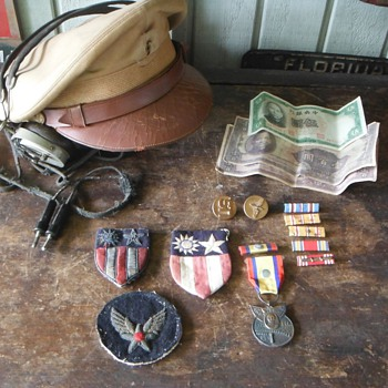 C.B.I. China Burma India AVG Flying Tigers Items Pre War & WWII - Military and Wartime