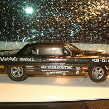 62 PONTIAC CATALINA ARNIE BESWICK MR B'S PASSIONATE PONCHO II 1/25TH SLOT CAR