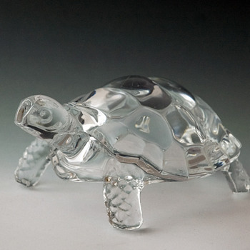 Glass Feng Shui Tortoise  - Art Glass