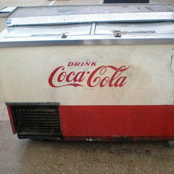 Vintage Coca-Cola  Beverage Air Co 