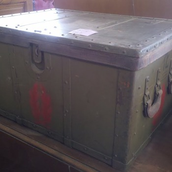 WWII Imperial Army apothecary chest