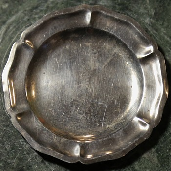 Small Sterling Plate