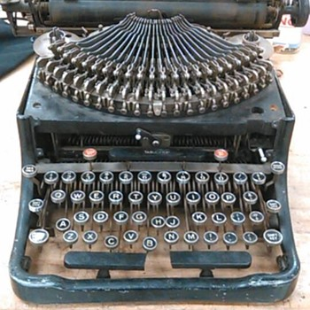 An antique typewriter - Office