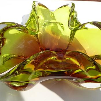 Chribska Glass Bowl