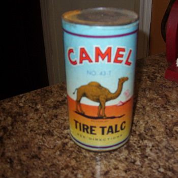 1946 camel tire talc - Advertising