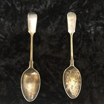 Spoons - Sterling Silver