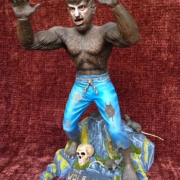 The Wolfman - Vintage Antique model from Aurora