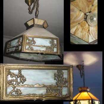 Victorian Era hanging lamp - What is it? - Victorian Era