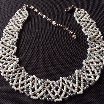 Seed pearls necklace?