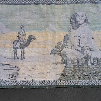 egyptian tapestry.