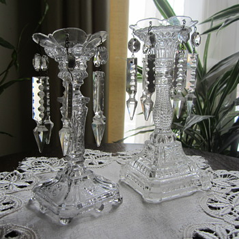 Pair of Candle Holders circa 1915
