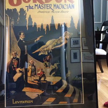Gordon the Master Magician Advertisement Poster