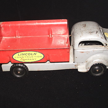 "Dumper Pickup  Truck""LINCOLN TOY""Mid XX century - Model Cars"