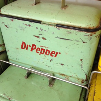 Dr Pepper Cooler Progress A4 - Advertising