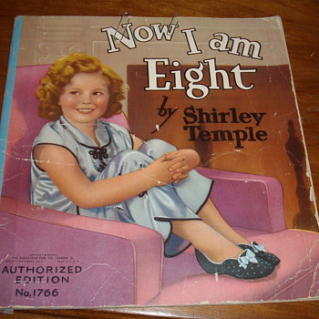 A post for Manikin or any other Shirly Temple Fans.