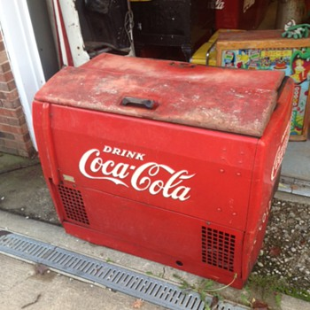 Coca Cola Westinghouse Ice Chest